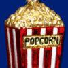 Popcorn Old World Glass Ornament