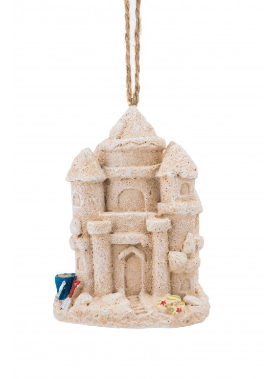 Sand Castle Ornament