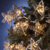 Rattan Natural Star Novelty Light Set