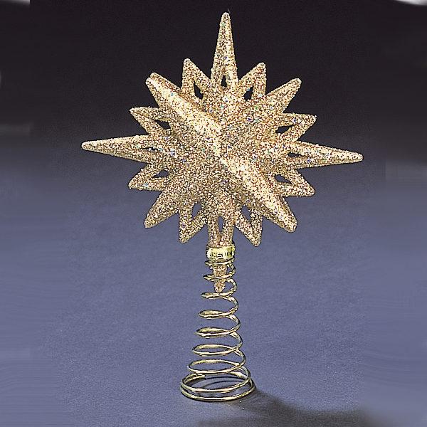 Gold Glitter Star Treetop
