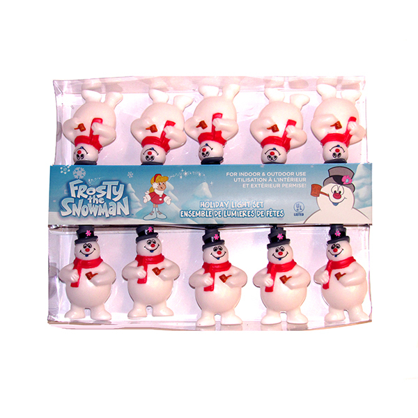 Frosty thre Snowman Novelty Light Set