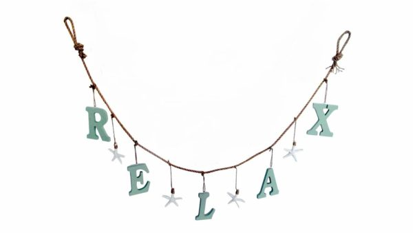 Wood Relax Home Decor Garland