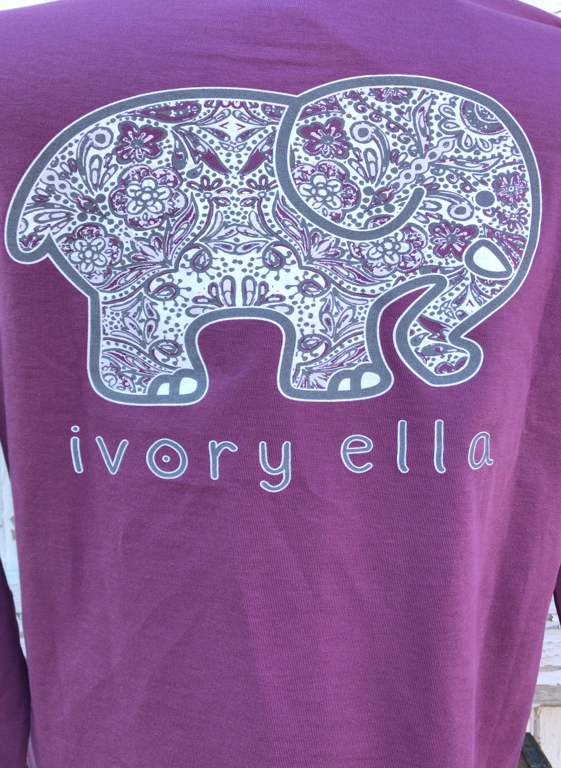b8cc59ebc Ivory Ella Women's Long Sleeve T-Shirt – Berry – Winterwood Gift ...