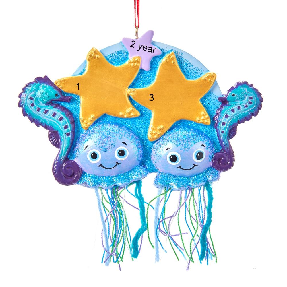Jellyfish Family/Friends of 2 Ornament – Winterwood Gift ...